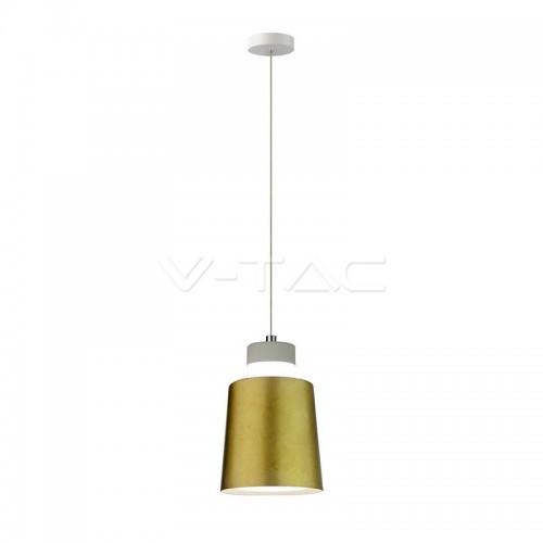 7W LED Pendant Light Gold Ø120 Warm White