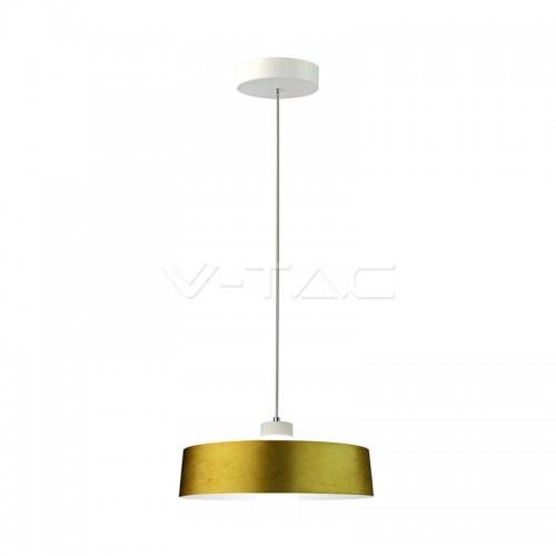 7W LED Pendant Light Gold Ø340 Warm White
