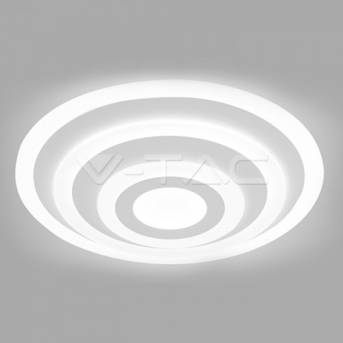 85W Soft Light Chandelier Slim 3 Ring Dimmable 3000K