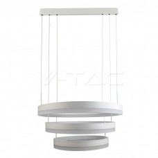 92W Soft Light Chandelier Dimmable White 3000K