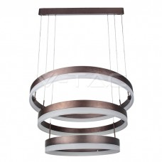 92W Soft Light Chandelier Dimmable Coffee 3000K