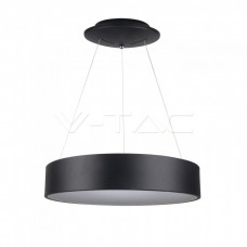 20W LED Pendant Light Dimmable Black 3000K