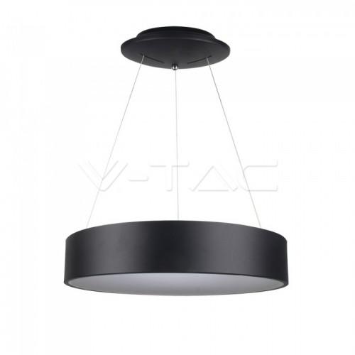 20W LED Pendant Light Dimmable Black 3000K
