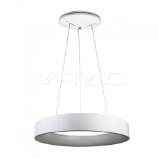 30W LED Pendant Light Dimmable White 3000K