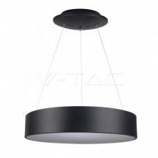 30W LED Pendant Light Dimmable Black 3000K