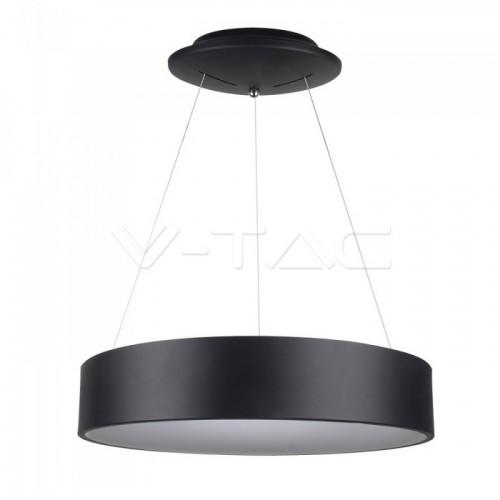 30W LED Pendant Light Dimmable Black 3000K