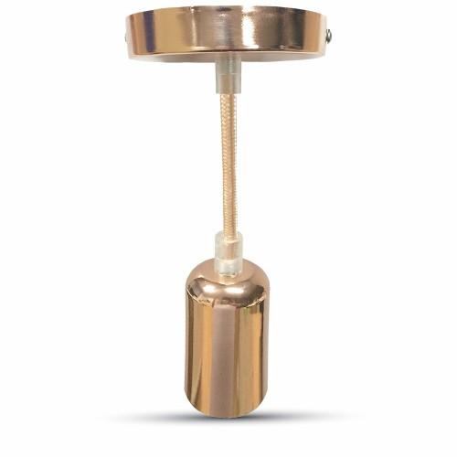 Chrome Celing Rose Lamp Holder