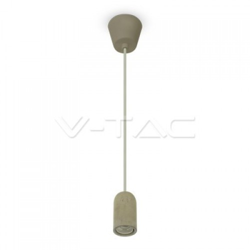Concrete Pendant Light Grey