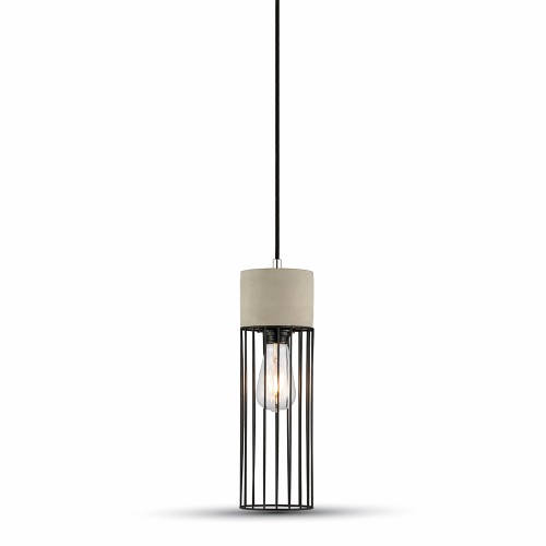 Pendant Light Concrete+Mesh Ф120mm