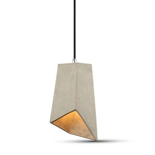 Pendant Light Concrete+Lampshade 155/155mm