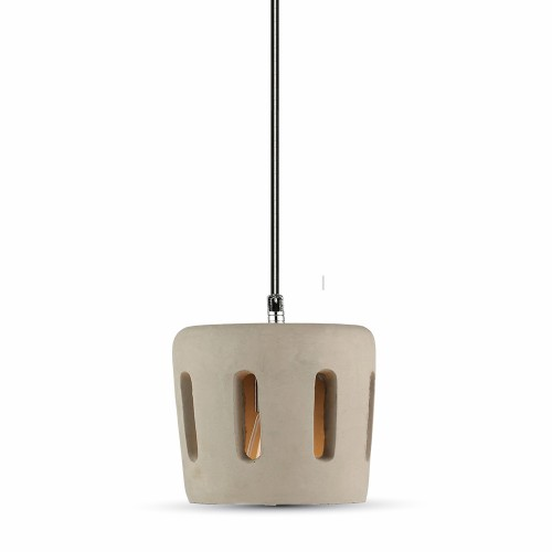 Pendant Light Concrete+Lampshade 200/200mm