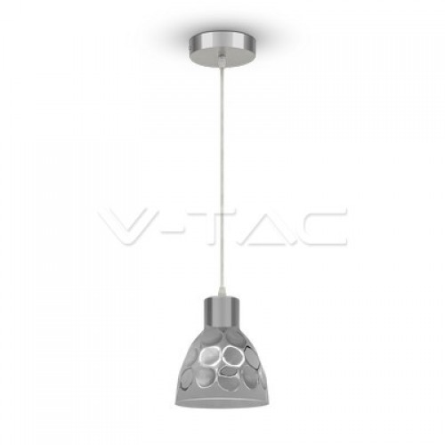 Pendant Light Holder Chrome Ф150