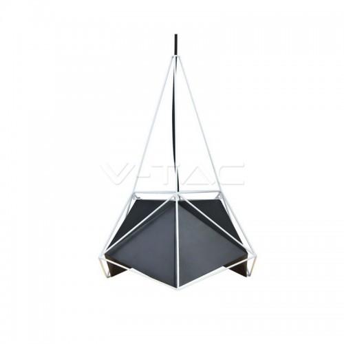 Pendant Light Basics Net Prism Black Lampshade
