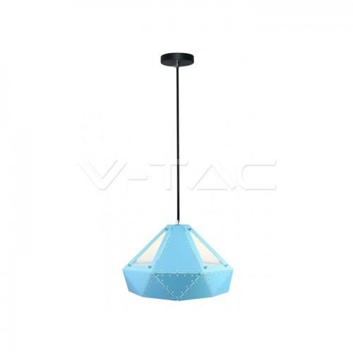 Pendant Light Pastel Prism Blue 310 x 180 mm