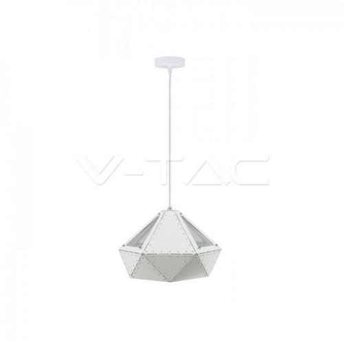Pendant Light Pastel Prism White 310 x 180 mm