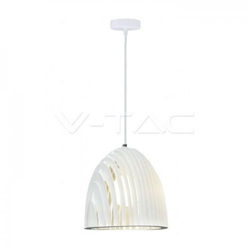 Pendant Light Cone Prism White