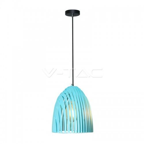 Pendant Light Cone Prism Blue