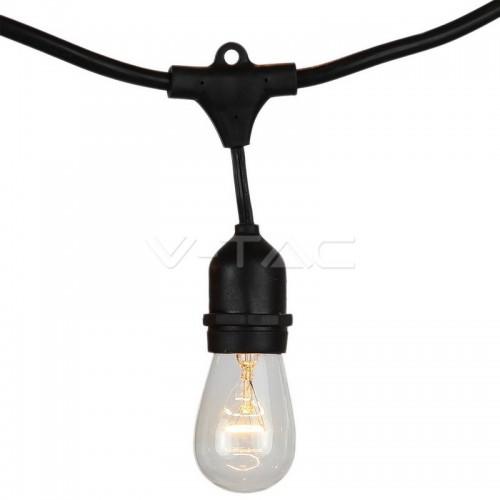 String Light Euro Plug & Weatherproof Socket