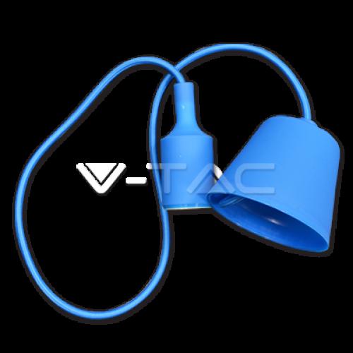 E27 Pendant Holder Blue