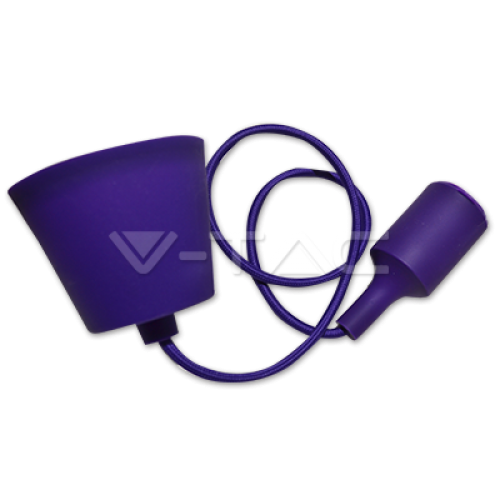 E27 Pendant Holder Purple