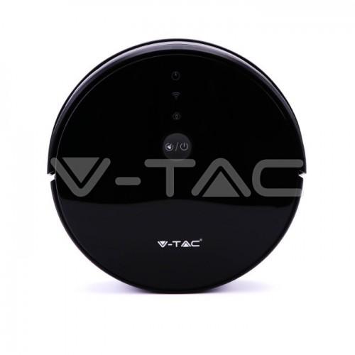 Vacuum Cleaner Gyro Robotic Amazon Alexa Google Home Compatible Black