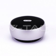 Portable Bluetooth Speaker Micro USB High End Cable 800mah Battery Silver