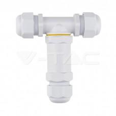 Waterproof White Terminal Block 8-12mm IP68