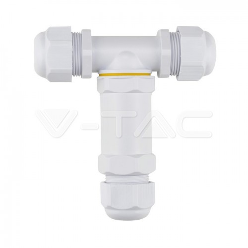 Waterproof White Terminal Block 8-12mm IP68