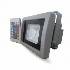 10W LED Floodlight RGB IR Remote SMD