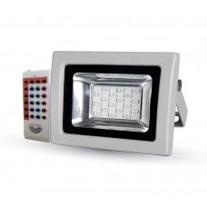 10W LED Floodlight RGB RF Remote SMD
