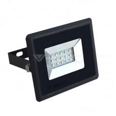 10W LED Floodlight SMD E-Series Black Body 3000K