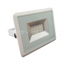 10W LED Floodlight SMD  E-Series White Body 6500K