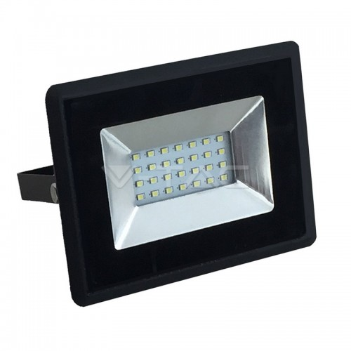 20W LED Floodlight SMD  E-Series Black Body 4000K