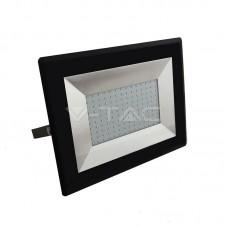 100W LED Floodlight SMD E-Series Black Body 3000K