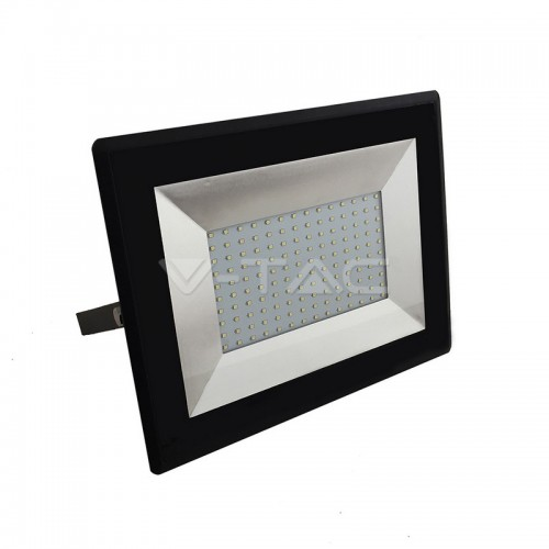 100W LED Floodlight SMD E-Series Black Body 3000K