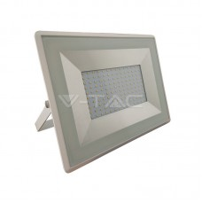100W LED Floodlight SMD E-Series White Body 4000K