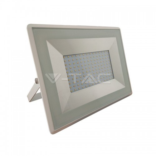 100W LED Floodlight SMD E-Series White Body 4000K