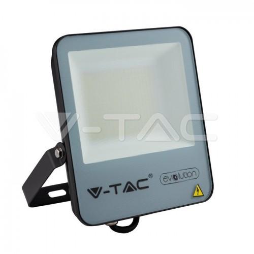 50W LED Floodlight Black Body 6400K 160LM/W