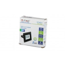10W LED Floodlight SMD E-Series Black Body Green IP65