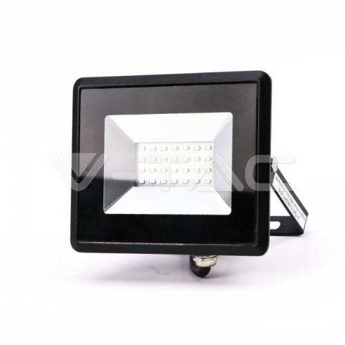 20W LED Floodlight SMD E-Series Black Body Blue IP65