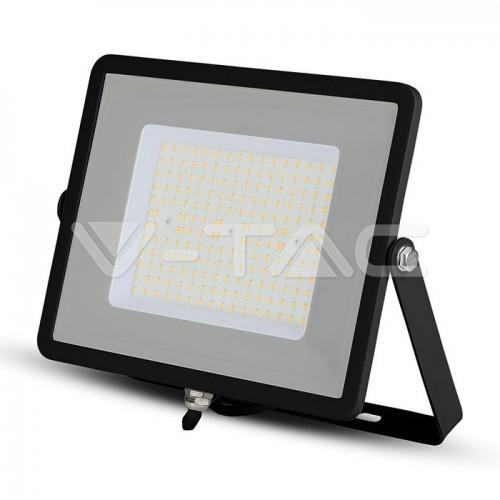 100W LED Floodlight SMD SAMSUNG CHIP SLIM  Black Body 6400K 120LM/W