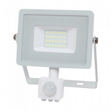 20W LED Sensor Floodlight SAMSUNG CHIP Cut-OFF Function White Body 4000K