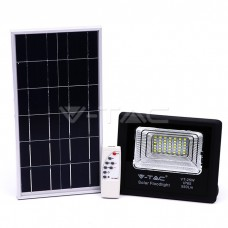 12W LED Solar Floodlight 4000K