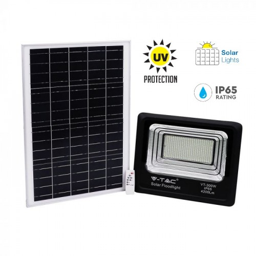 50W LED Solar Floodlight 6000K