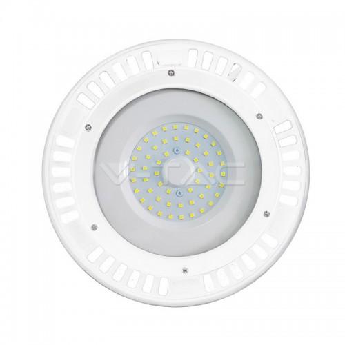 50W LED SMD High Bay UFO White Body 6400K 120°