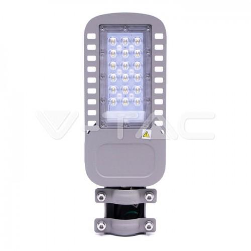 LED Street Light SAMSUNG CHIP 5 Years Warranty - 30W SLIM 4000K 120LM/W