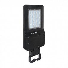 40W LED Solar Street Light Black Body 6000K 120LM/W