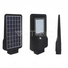15W LED Solar Street Light Black Cover 4000K