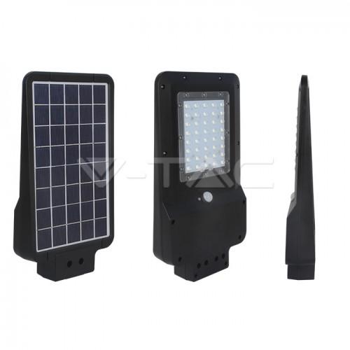 15W LED Solar Street Light Black Cover 4000K