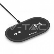 10W Wireless Charging Pad Black